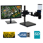 eHD801 series 5x-122x or 10x-244x + HD1080p + SD Card + USB + Measurement Option [Starting at $1800]