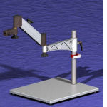 Lift Articulating Workstation Stand Components
