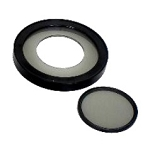 Ash Technologies Digital Microscope Accessories 8 Point LED Ring Light Polarizer