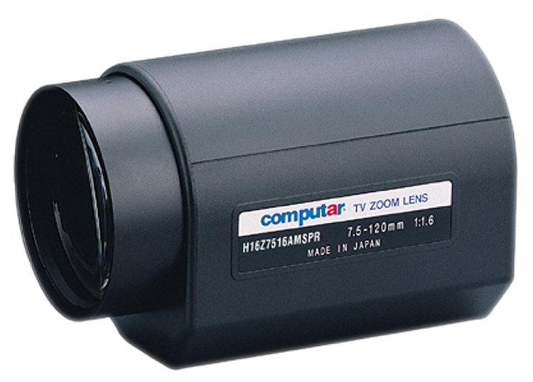 Computar Motorized Zoom Lenses 1 2 Format C Mount 7 5 120mm F1 6 A I W Spot Preset Infra Red