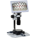 HD801LBSm12XY HD 1080p Digital Microscope with Basic Stand 11.6 inch Retina HD Display and XY Meas. Stage