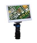 eHD801Lm12 HD 1080p Digital Microscope (2x-59x) with 11.6 inch Retina HD Display