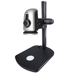 HDMS800-TSBL HD 1080p Digital Microscope and Measurement System 2.5x—237x with HDMI, USB, Tracking Stand, Back Lighting
