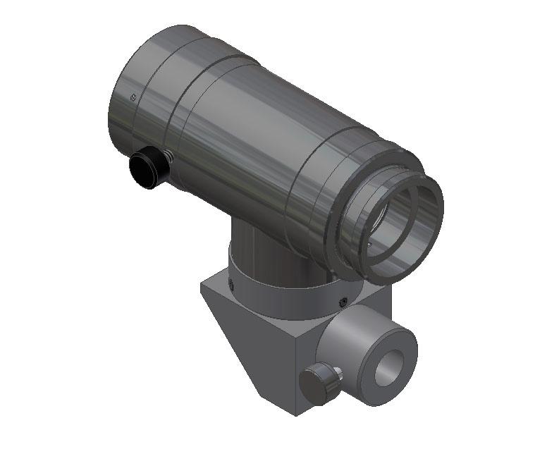 Right Angle Body : Navitar machine vision body tube right angle coax