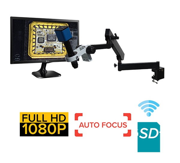 eHDAF206 series standard 10x-708x or possible 3x-35401x Auto Focus + Wi-Fi + HD1080p + SD card [Start at $2400]