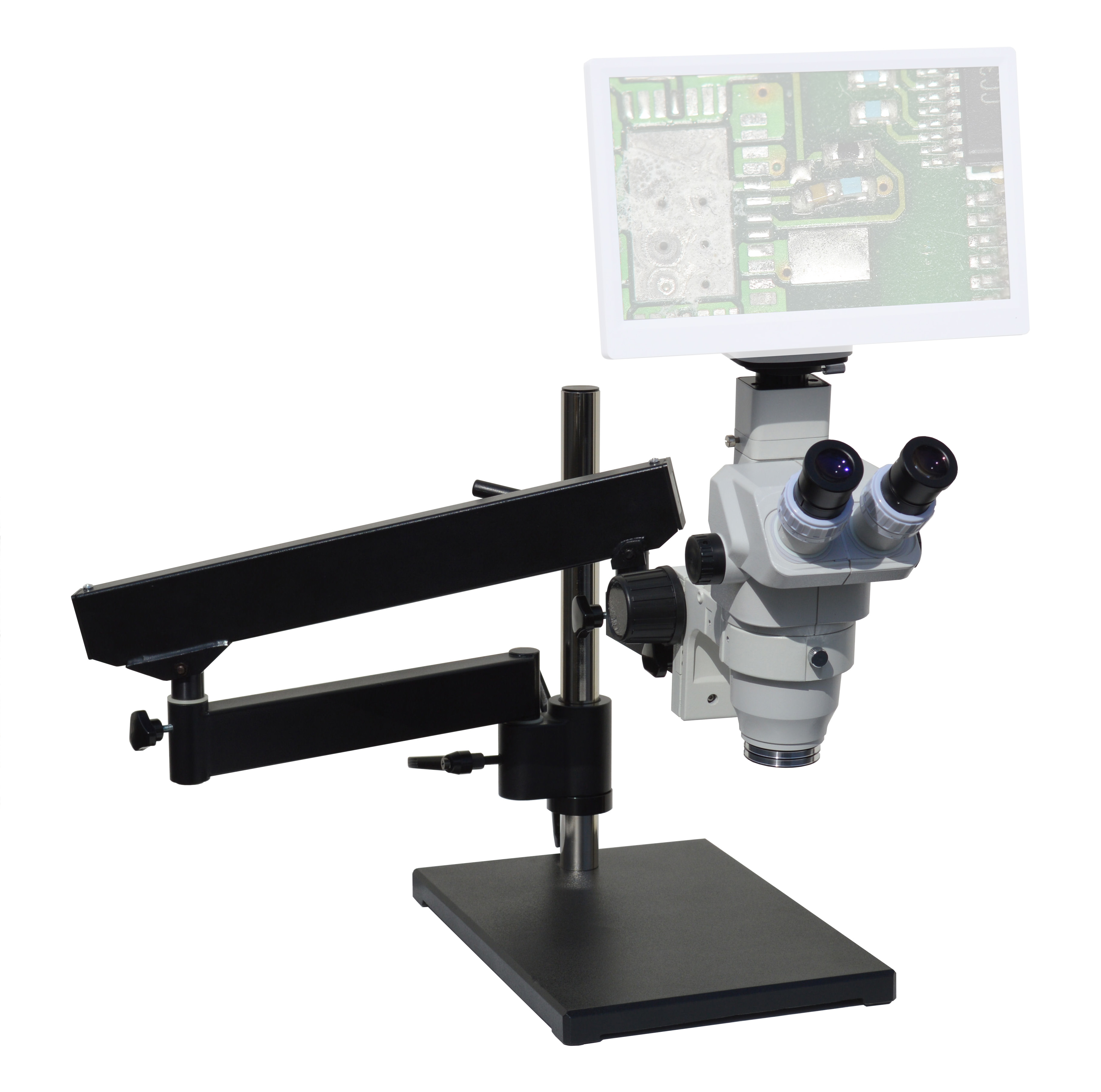 eTR100 Trinocular Digital Microscope series 2x-270x or Video Mag 3x-828x [Starting at $973]