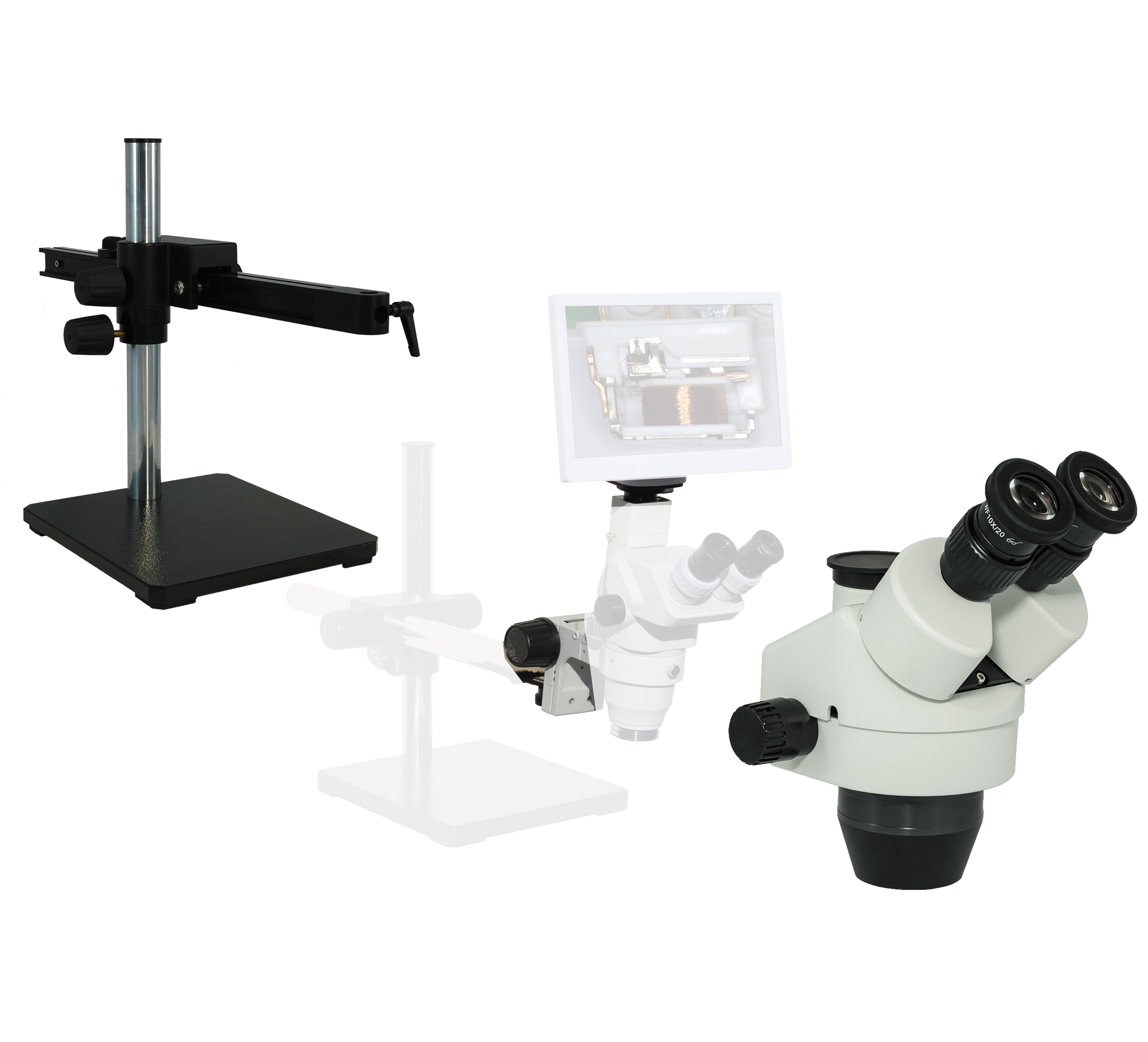 eTR500 Trinocular Digital Microscope series 3.5x-270x [Starting at $573]