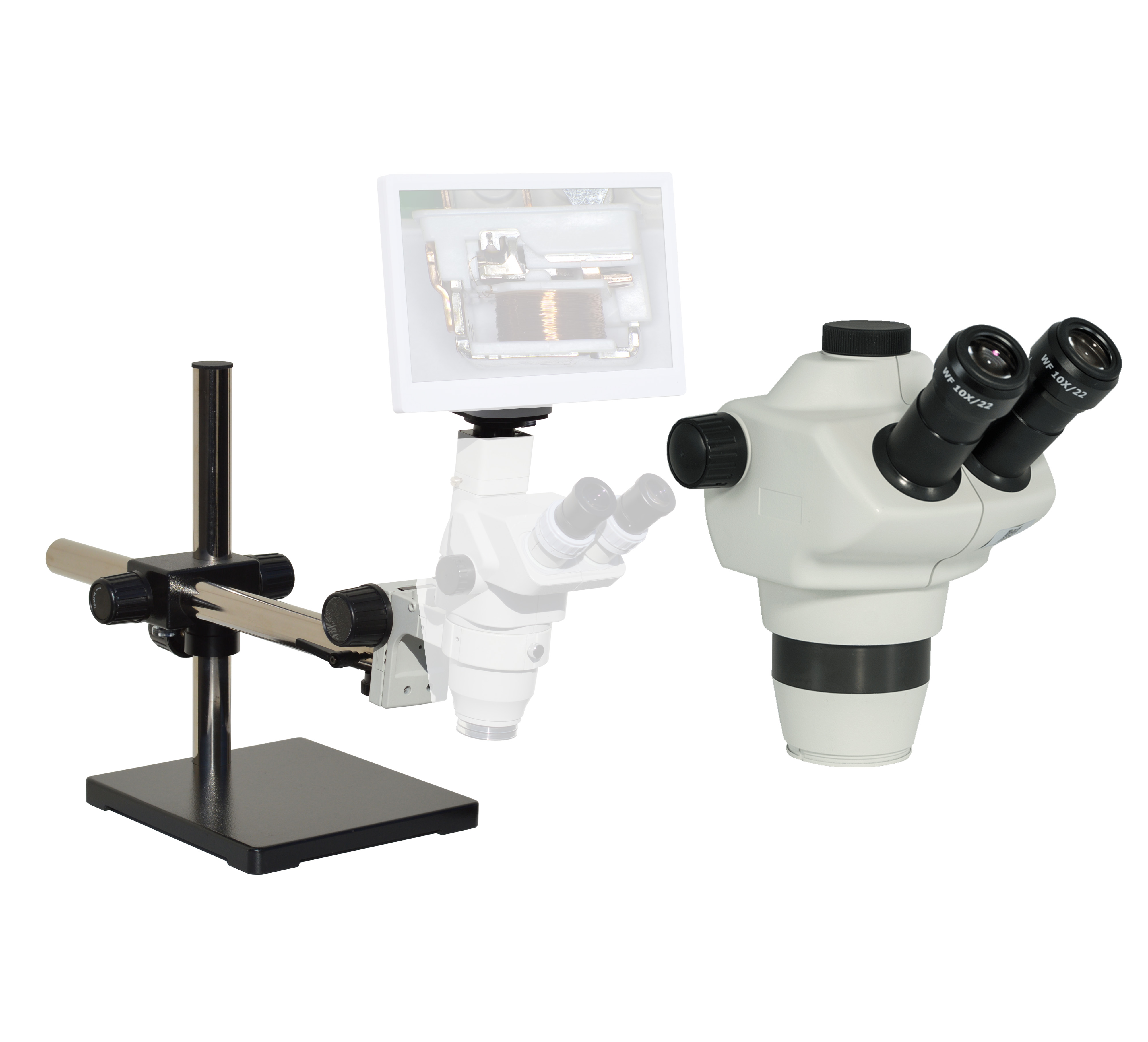eTR600 Trinocular Digital Microscope series 8x-50x or possible 4x-200x [Starting at $1007]