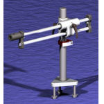 Ball Bearing Arm Table Mount Stand Components