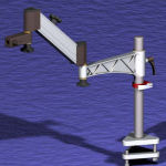 Lift Articulating Table Clamp Stand Components
