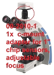 Accu-Scope Microscopes 00-2010-1 1x C-Mount Adapter (for 1