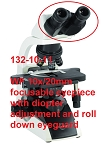 Accu-Scope Microscopes 132-10-11 Wide Field 10x/20mm Focusable Eyepiece