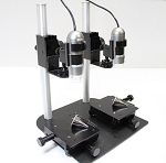 Dino-Lite Dual Scope Table Top Comparison Stand with XY base MS45BX-D2