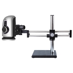 HDMS800-DU HD 1080p Digital Microscope and Measurement System 2.5x—237x with HDMI, USB, Dual Gliding Arm Stand