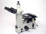 Meiji Techno IM7200 Trinocular Inverted Brightfield Metallurgical Microscope