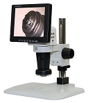 LCD Digital Video Microscope 8 inch Monitor Basic Stand LCDM8-BS