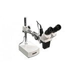 Meiji Techno Microscopes BMK-3/LED Binocular 10x Inclined Long Arm Stereo Microscope with LED Incident Light for BMK-3 Series