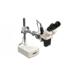 Meiji Techno Microscopes BMK-4/LED Binocular 5x Inclined Long Arm Stereo Microscope with LED Incident Light for BMK-4 Series