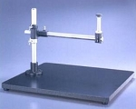 Meiji Techno SBU Wide Surface laminate Stand with Pillar, Crossarm, mounting post, base 580mm x 500mm x 38mm