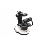 Meiji Techno Microscopes GMZT/PT 76mm Incident and Transmitted Brightfield/Darkfield Stand with Gem Clamp for Jewelry Inspections