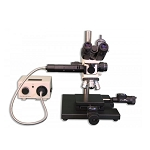 Meiji Techno MC-60 Binocular Reflected Light Brightfield/Darkfield Tool Makers/Measuring Microscope
