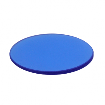 Meiji Techno Microscope MA563/05 Blue filter 40mm diameter, fits EM series transmitted light bases  Under MA569 clear glass stage Plate