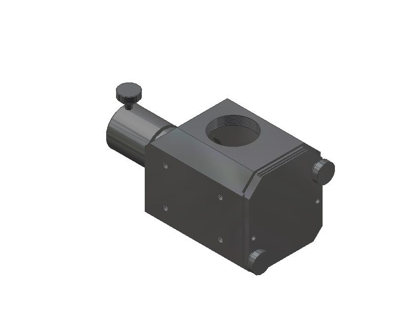 Navitar Machine Vision 1-15800 Cube Mounting Block (3-15807 Guide bushing included)