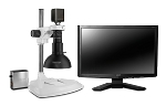 Scienscope Microscopes MAC-PK1-DM-AF Auto Focus Digital Inspection System, Extended Post Stand, Dome Light