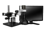 Scienscope Microscopes MAC-PK5D-DM-AF Auto Focus Digital Inspection System, Dual Arm Boom Stand, Dome Light