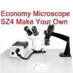 Economy Microscope SZ4 Make Your Own