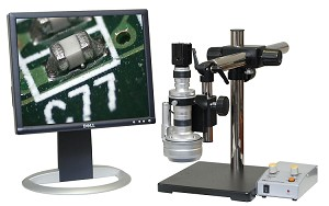 3D Digital Microscope 16x-109x Universal Stand 2MP USB Camera Measurement Software 3D-150-US