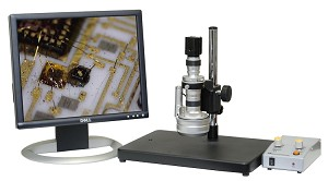 3D Digital Microscope 32x-218x Basic Stand 2MP USB Camera Measurement Software 3D-300-BS