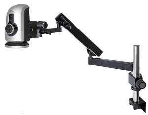 Ash Technologies Omni Digital Microscope Inspection Systems with Articulated Arm Stand FI-805-001AI-100-039
