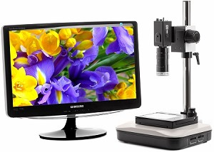 Digital Microscopes HD Auto Focus Possible 2x-190x Long Working Distance FSHDAF3-XYM22
