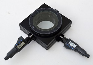 XY Measurement Stage with 25mm Range and 1 micron Resolution