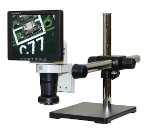 LCD Digital Video Microscope 8 inch Monitor Universal Stand LCDM8-US