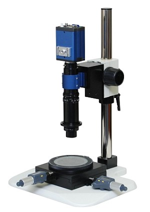 Digital USB Microscope 10x-800x Lens with XY Measurement Stand and USB Camera M400-1-XYMeas-USB