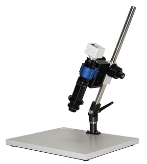 Digital USB Microscope 10x-800x Lens with Tilt Stand and USB Camera M400-4-TS-USB