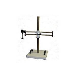 "Meiji Techno Microscope BAS-3 Ball bearing stand with 13"" x 13"" x 1.5"" base, 25"" vert. post, no post  req'd FS   EM"