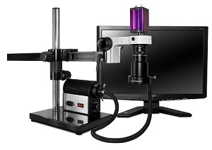 Digital Microscope Scienscope MAC-PK5-AN-X Bundle